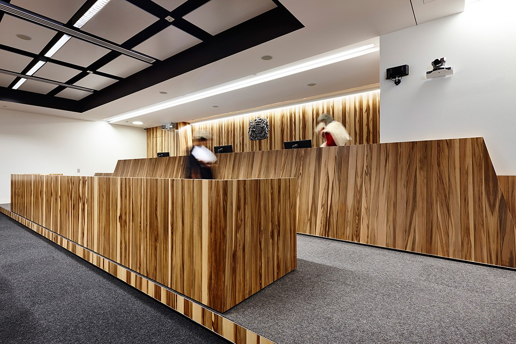 courtroom specifically designed to accommodate Kilmore East Class action trial that emanated from Royal commission into Black Saturday bushfires