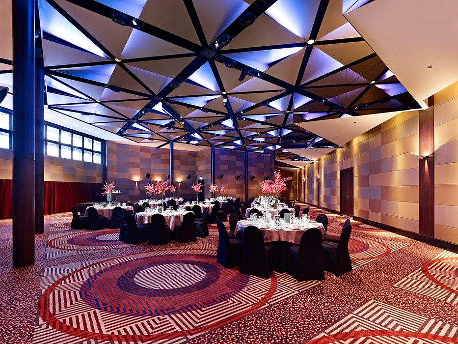 Luxury hotel function room