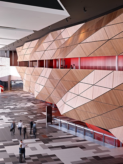 Entry foyer within melbourne convention and exhibition centre