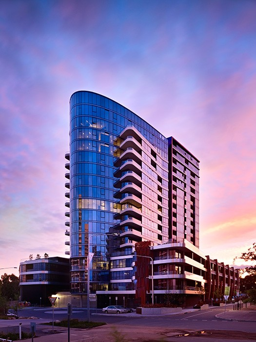 Canberra high rise apartments