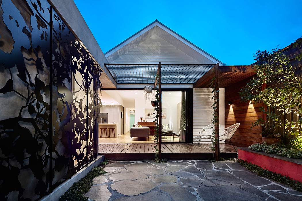 Hawthorn house by Bryant Alsop Architecture