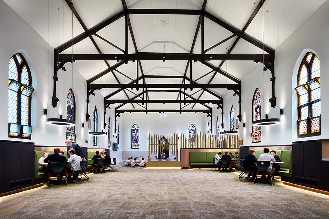 Private school heritage church conversion