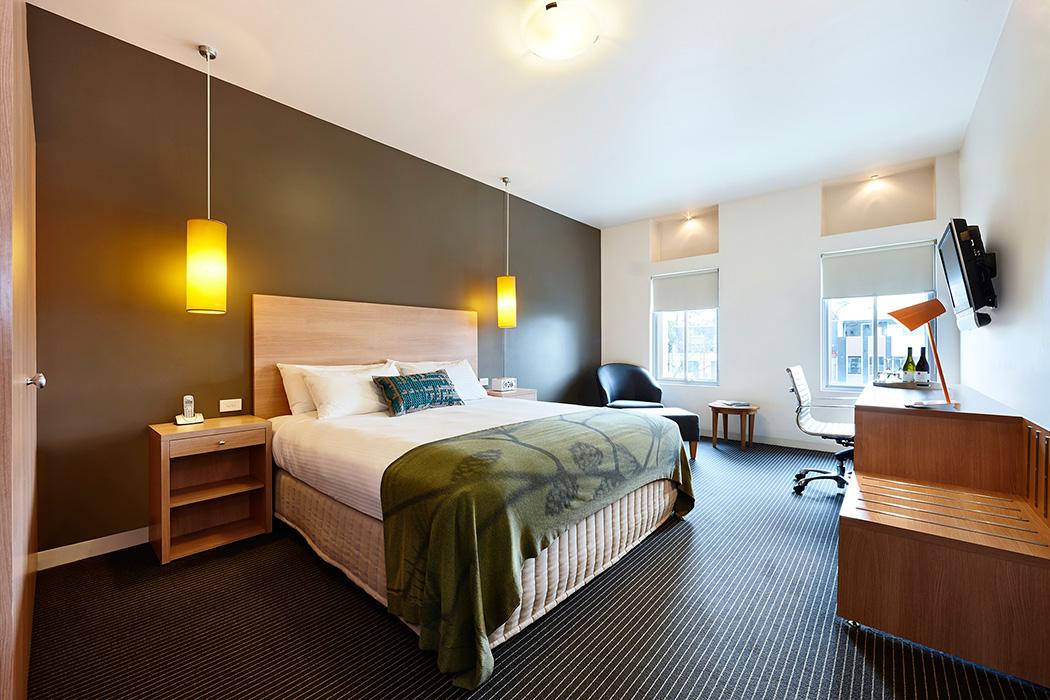 Hotel room photography Melbourne - Urban St Kilda Rooms 2
