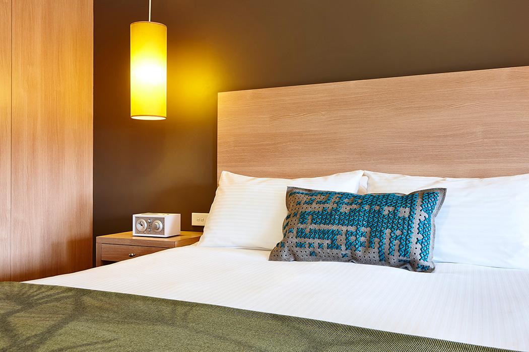 Hotel room photography Melbourne - Urban St Kilda Rooms