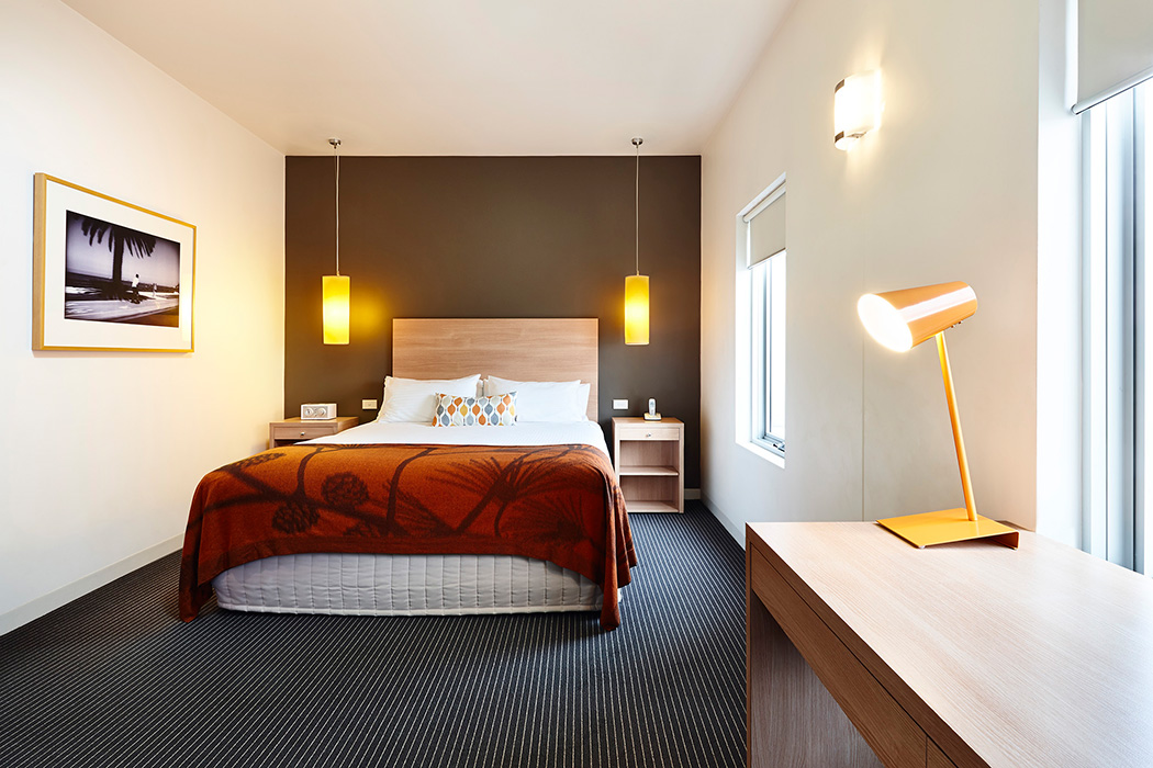 Hotel room photography Melbourne - Urban St Kilda Rooms 3