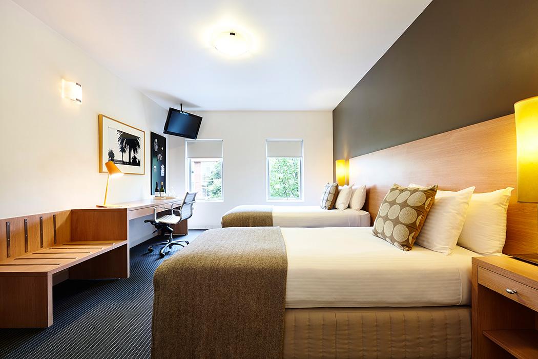 Hotel room photography Melbourne - Urban St Kilda Rooms 5