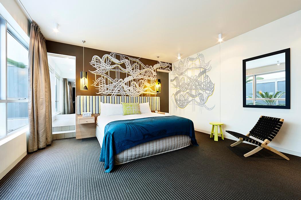 Hotel room photography Melbourne - Urban St Kilda Rooms 8