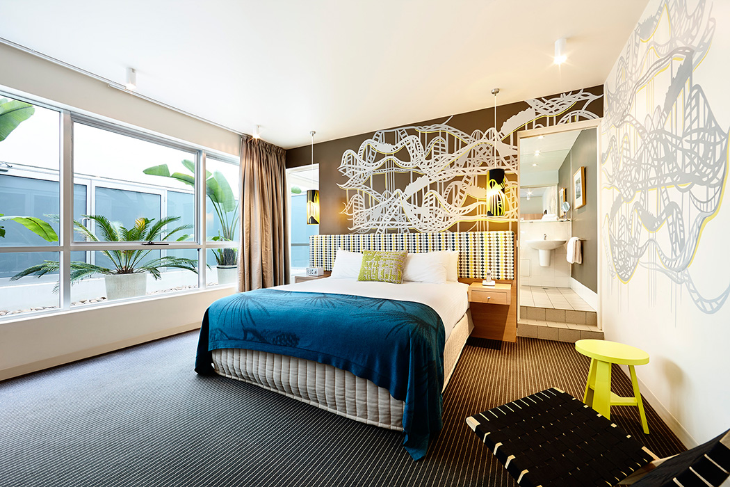 Hotel room photography Melbourne - Urban St Kilda Rooms 9