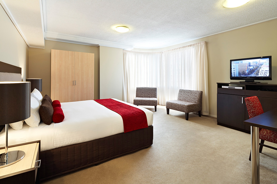 Melbourne Hotel - The Swanston Hotel Room