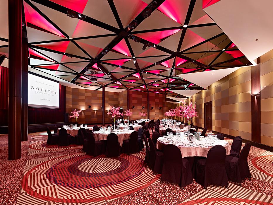 ballroom photos - La Trobe Ballroom at Sofitel Melbourne On Collins 2