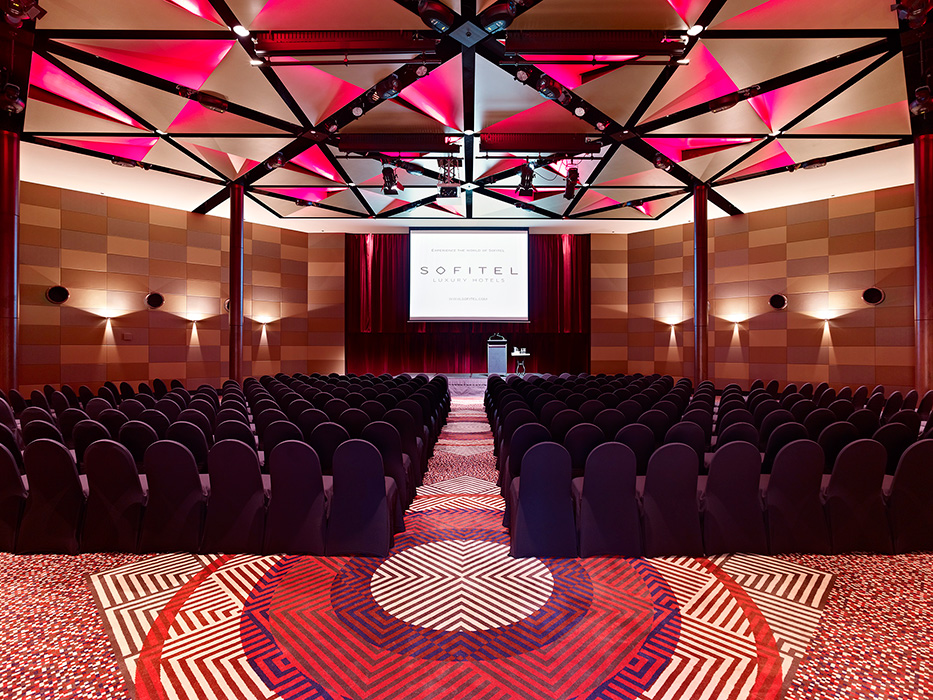 ballroom photos - La Trobe Ballroom at Sofitel Melbourne On Collins 7