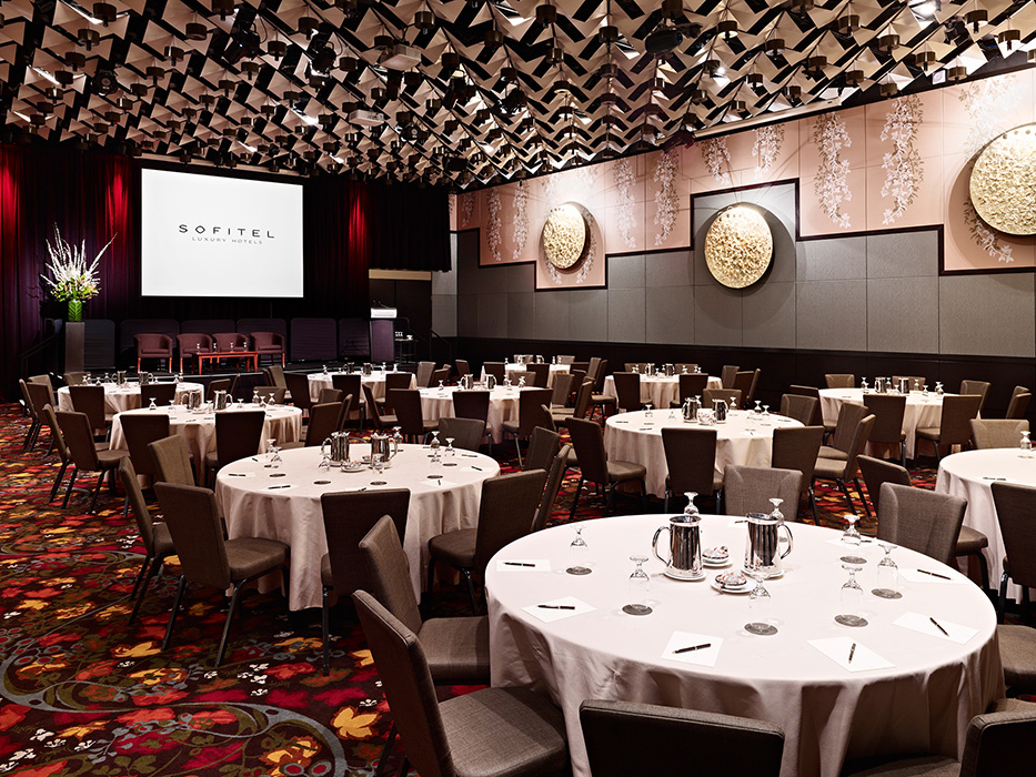 Sofitel Melbourne On Collins Grand Ballroom - Luxury hotel photography 9