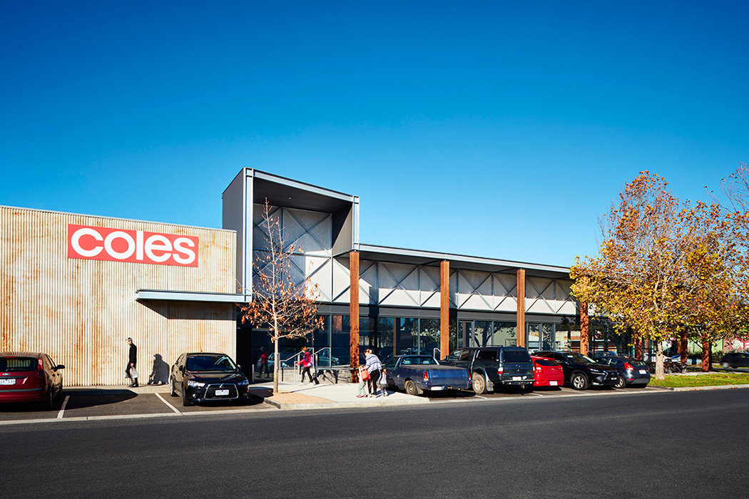Gisborne Retail Centre Photographed for MGS Architects