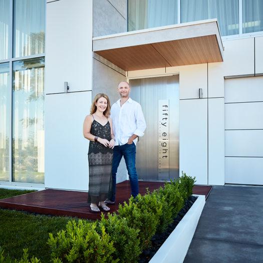 GRAND DESIGNS AUSTRALIA SERIES 7 HOST & HOME OWNER PORTRAITS