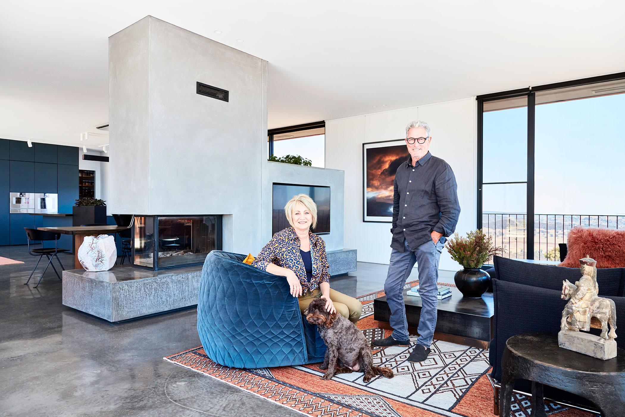 GRAND DESIGNS AUSTRALIA SERIES 8 HOST & HOME OWNER PORTRAITS