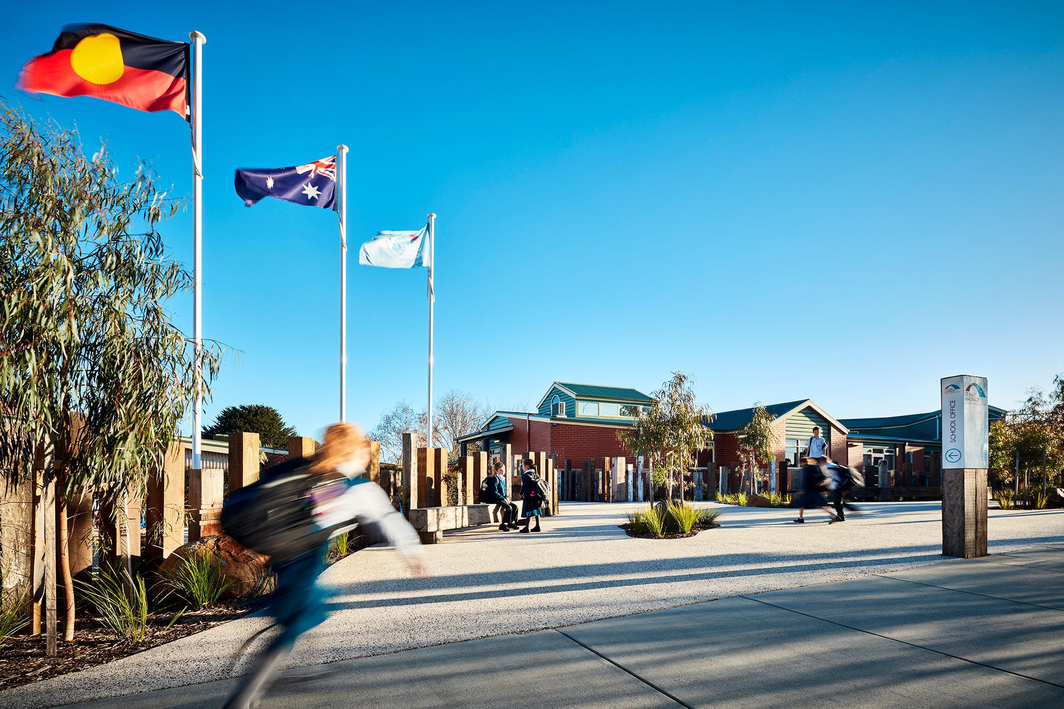 ST MARY MACKILLOP CATHOLIC PRIMARY SCHOOL - Australian Flag 3